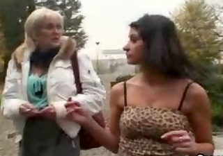 young dude picks up an old prostitute and bangs