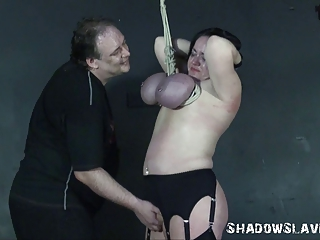andreas mature breast bondage suspension