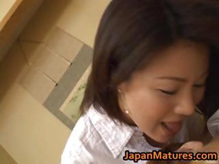 concupiscent japanese mature babes engulfing part0