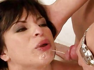 older man fucking and pissing on cutie