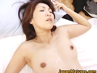 horny japanese aged babes sucking part8