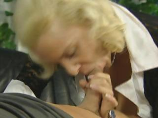 golden-haired german mother i acquires fucked