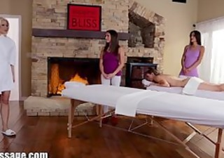 exclusive: all cutie massage mother and daughter