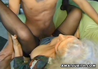 old amateur mature wife sucks and fucks with jizz
