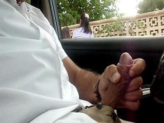 flashing dickflash public masturbation in my car