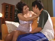 kyoko enchanting japanese aged babe is a playgirl