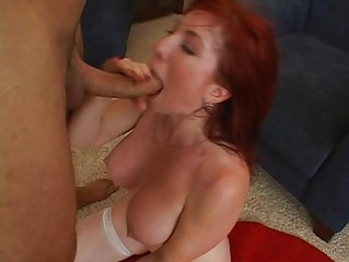 cute breasty redhead mother i getting hard
