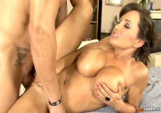 sexy sex massage with large tits