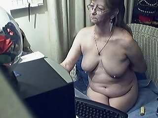 fascinating granny with glasses 7
