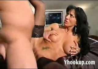 italian mommy and sons friend on webcam