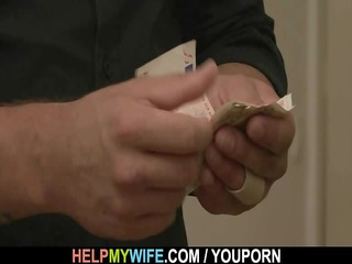 old fellow pays him to fuck his juvenile wife