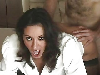 seductive busty mother i in nylons gets slammed