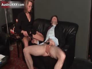 dirty mature whore goes crazy spanking part11