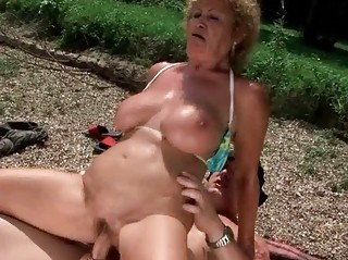 lusty grannies comilation