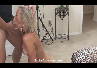 dilettante mother i casting video ends with facial