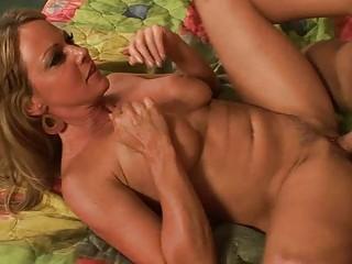 blonde milf gets hardcore pleasure