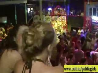 public sensation in disco with next door sluts