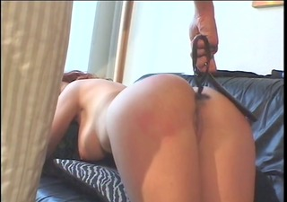 large titties redhead spanked by a smoking hot