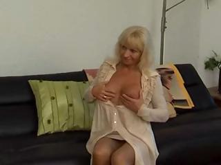russian mature mother receives a younger boys