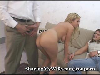 super-sized pounder splits tight wife