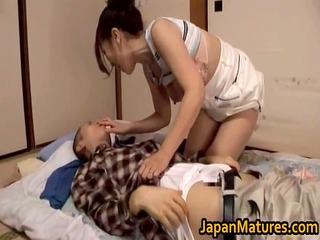 great looking japanese older engulfing