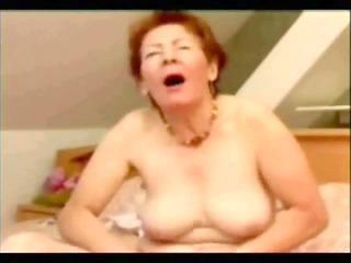great masturbation of old slut