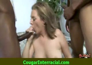 sexy cougar sex interracial large pecker rider 103