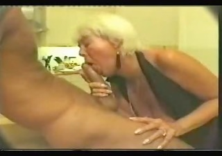 old doxy picked up and does a bj