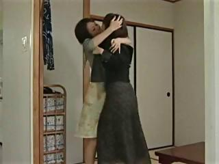 young japanese legal age teenager acquires trio